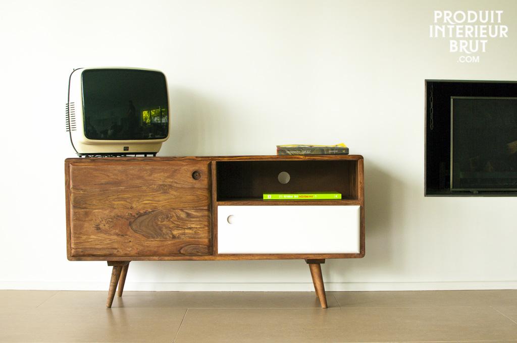 TV-Möbel im skandinavischen Stil der 60er-Jahre